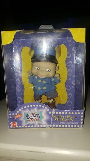 Mattel The Rugrats Movie Phil Soft Pal (Slightly Damaged Box) for Sale in Riverside, CA
