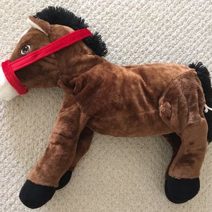 New Dan Dee Big Soft Horse - 26 Inches Long, 21 Inches Tall - Stuffed Plush Toy for Sale in Fairfax, VA