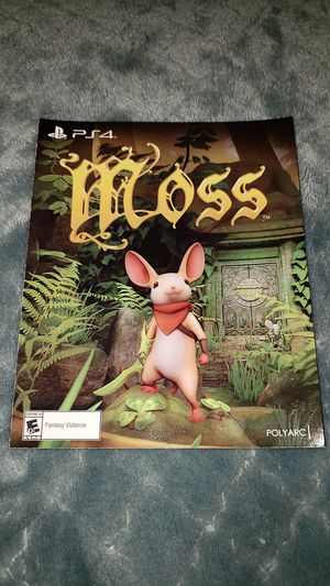 Moss PSVR PS4 GAME for Sale in Zanesville, OH