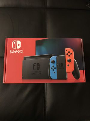 Nintendo switch v2 NEON NEWEST VERSION NEW for Sale in Santa Ana, CA