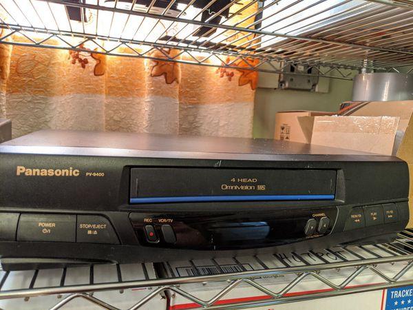 Panasonic VHS Tapes Player