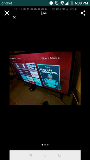 Samsung Roku with blue ray player for Sale in San Antonio, TX