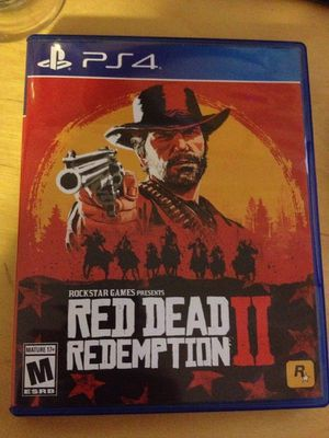 Red Dead Redemption 2 - PlayStation 4 PS4 for Sale in San Antonio, TX
