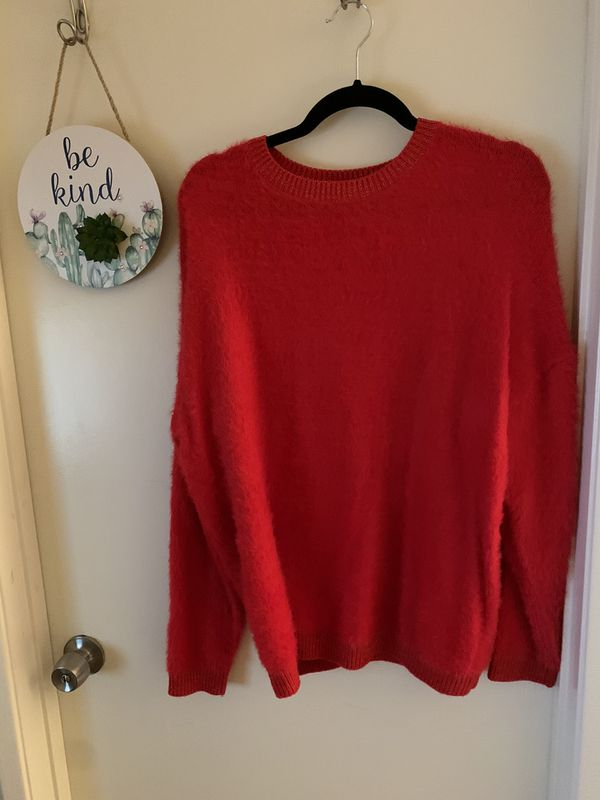 Lot 7 - Women's Fuzzy / Holiday Sweaters - 4 pieces