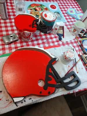 Browns wall hanger helmets. for Sale in Parma, OH