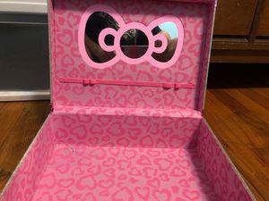 hello kitty rhinestone makeup box for Sale in Portland, OR