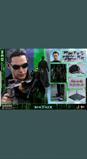 Hot toys The Matrix Neo Collectible Figure New for Sale in West Palm Beach, FL