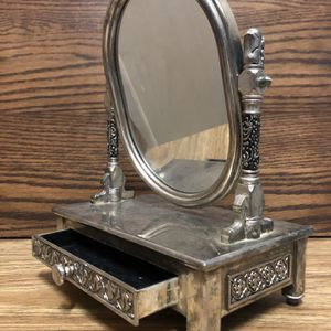 Vintage Silver Jewlery Box Mirror for Sale in Las Vegas, NV