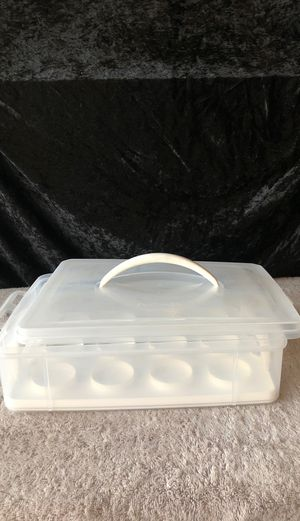 Cupcake carrier/storage container for Sale in Huntington Beach, CA