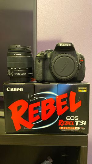 Canon DSLR with lens and accessories for Sale in Camas, WA