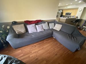 Large 8 Seater Sectional Couch - Need gone ASAP for Sale in Miami Gardens, FL