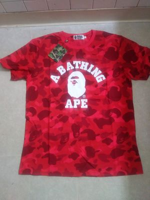 Bape shirt new medium 40 obo cashapp accepted free shipping for Sale in Akron, OH