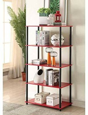 ‼Shelving storage unit, red‼ for Sale in El Paso, TX