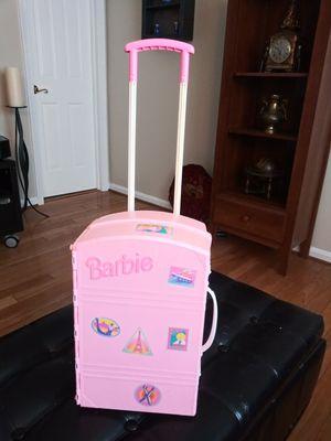 Vintage Barbie Take Along Travel Luggage for Sale in Gaithersburg, MD