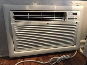LG 11,800 BTU 115V Through-the-Wall Air Conditioner with Remote Control for Sale in Jersey City, NJ