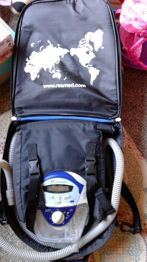 ResMed S7 lightweight CPAP machine and case for Sale in Renton, WA