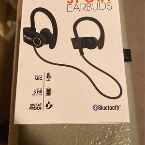 Coby Wireless Sport Earbuds for Sale in Henderson, NV