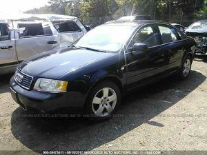 2004 AUDI A6 2.7L TURBO BLUE FOR PARTS PARTING OUT for Sale in Dallas, TX