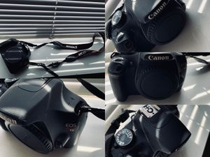 Canon Rebel T5 w/ 18-55mm and 75-300mm kit lenses for Sale in Southfield, MI