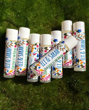Wedding Favors Wedding Lip Balm Our Love Is The Balm for Sale in San Diego, CA