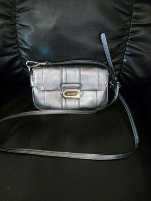 Makowsky soft leather silver purse or small handbag for Sale in Phoenix, AZ