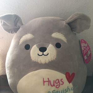 "SQUISHMALLOWS 8"" Valentines Dog Plush for Sale in Hialeah, FL"