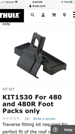Thule 1530 fit kit for Sale in Nashville, TN