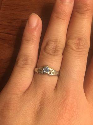$7 new beautiful blue gemstone ring for Sale in Mechanicsburg, PA