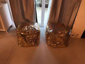 2 Sequins been bag seats for Sale in Miramar, FL