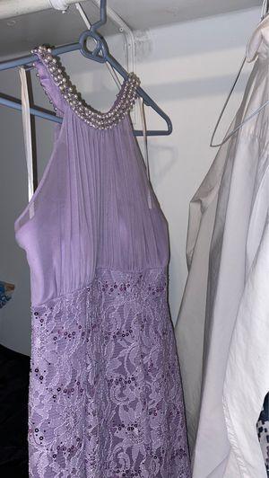 Brand new lavender mermaid tale prom dress for Sale in Pasadena, CA