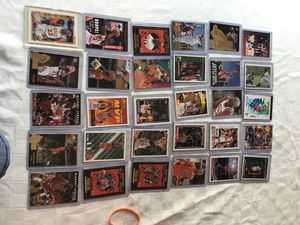 130 different Michael Jordan cards each in own case for Sale in NJ, US