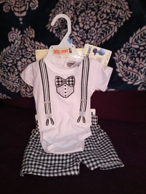 Brand new baby boy OUTFIT 0-3MO. for Sale in Arlington, TX