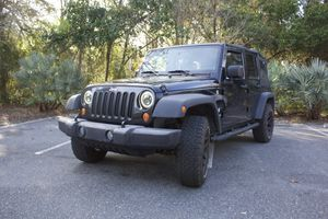 2007 Jeep Wrangler Unlimited X for Sale in Tampa, FL