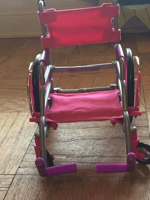 American girl doll wheel chair set for Sale in Winter Haven, FL