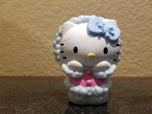 Hello Kitty collectable Happy meal toy #3 Winter figure cake topper! for Sale in Gilbert, AZ