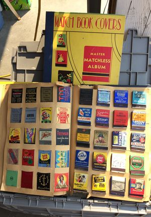 Match book collection for Sale in Wenatchee, WA