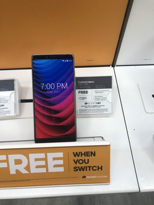 Free coolpad legacy when you switch to boost for Sale in Kinston, NC