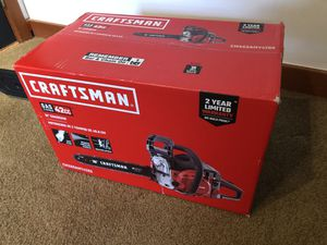"""Gas 2-cycle 42cc 16"""" chainsaw for Sale in Bellevue, WA"""