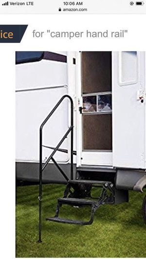 Stromberg carlson mate step assist campers trailer rv hand rail for Sale in South Pasadena, CA