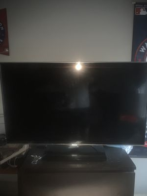 50 in flat screen with remote for Sale in Washington, DC