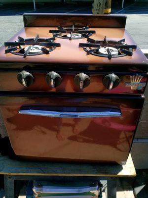 Older RV stove/oven works great for Sale in Fresno, CA