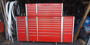 Snap-on tool box with tools for Sale in Castro Valley, CA