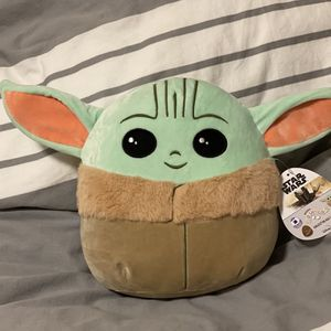 Squishmallows Plush Stuffed Toy Baby Yoda The Child for Sale in Hillsboro, OR