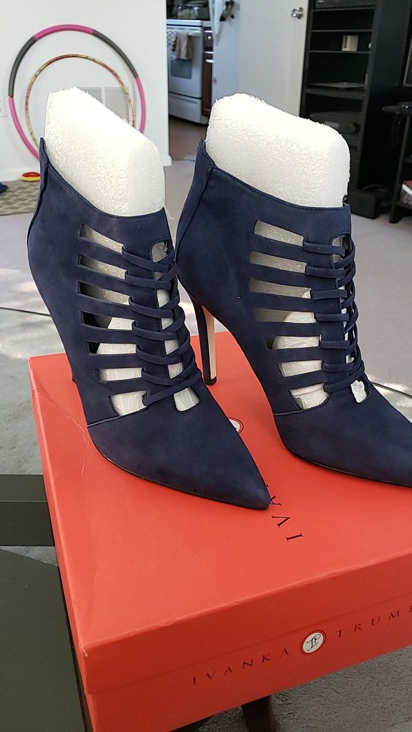 Suede high heels SIZE 9