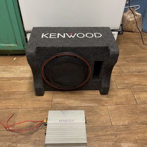 """190$ sub 12"""" 500rms with amp for Sale in Phoenix, AZ"""