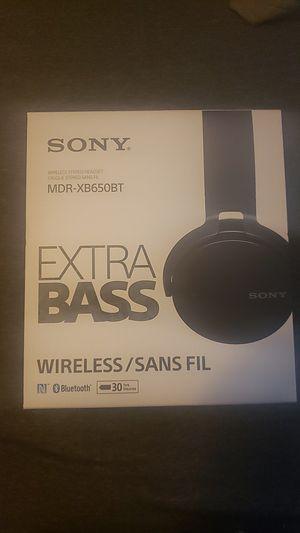 Sony ExtraBass Headphones for Sale in Sacramento, CA
