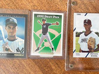 1990 Tampa Yankees #17 Mariano Rivera/1993 Score Derek Jeter/1993 Tops Gold #98 Derek Jeter for Sale in Alpharetta,  GA