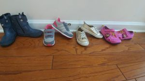Toddler girl shoes size 8 and 9 for Sale in Duluth, GA