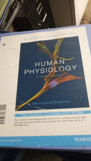 Book (human physiology for Sale in Long Beach, CA