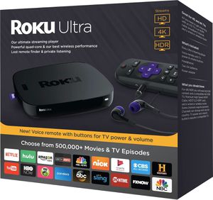 New, sealed - Roku Ultra 4K HDR streaming player for Sale in Chicago, IL